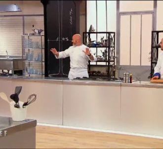 Philippe Etchebest recadre sa brigade dans 'Top Chef'