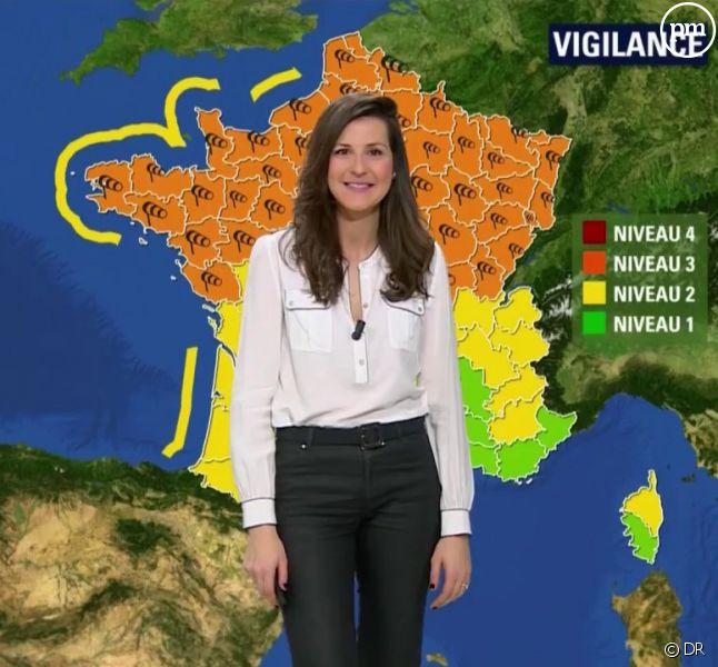Fanny Agostini remplacée par Daniela Prepeliuc à la météo — BFMTV