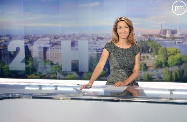 Anne-Claire Coudray sur TF1.