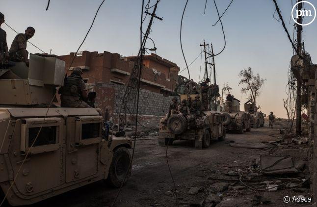 Mossoul, terrain de guerre où la journaliste Véronique Robert effectuait son reportage pour France Télévisions.