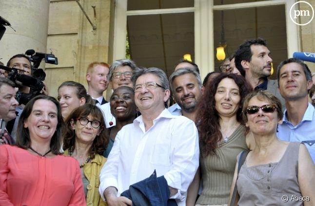 Les députés de la France Insoumise à l'Assemblée nationale.