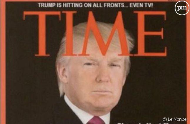 """Fausse Une du """"Time"""" sur Donald Trump"""