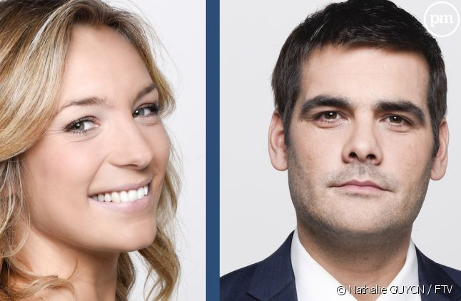 Clémentine Sarlat et Matthieu Lartot