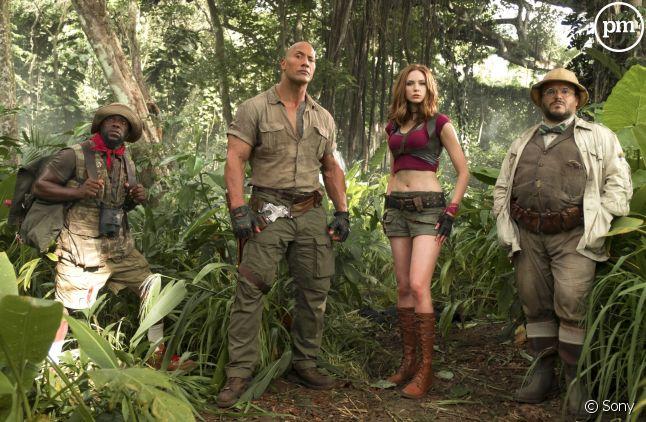 """Le cast de """"Jumanji : Bienvenue dans la jungle"""""""