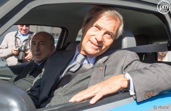 Vincent Bolloré, président du conseil de surveillance de canal+.