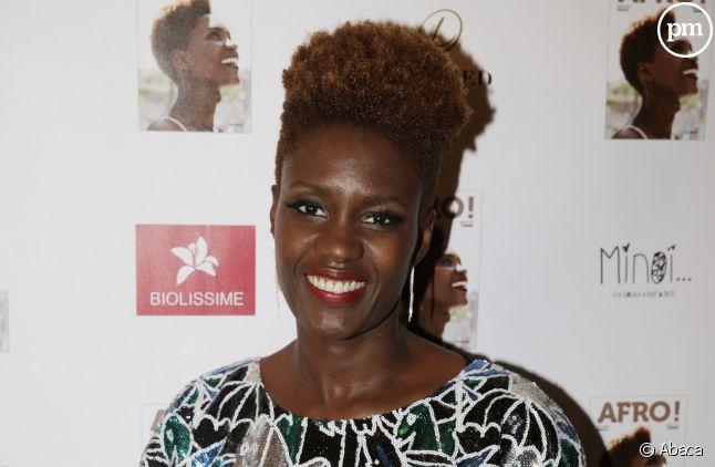 """Rokhaya Diallo, nouvelle chroniqueuse de """"Touche pas à mon poste"""" sur C8."""