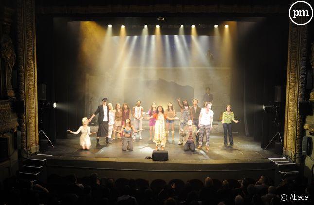 """Représentation de """"Hair"""" au Théâtre du Gymnase en 2011"""