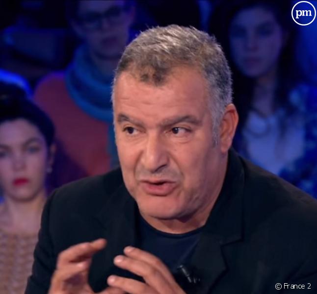 """Magyd Cherfi, invité dans """"On n'est pas couché"""" le 29 octobre 2016 sur France 2."""