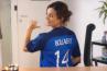 Clip de rentrée : Faustine Bollaert et Daphné Bürki en footballeuses sur France 2