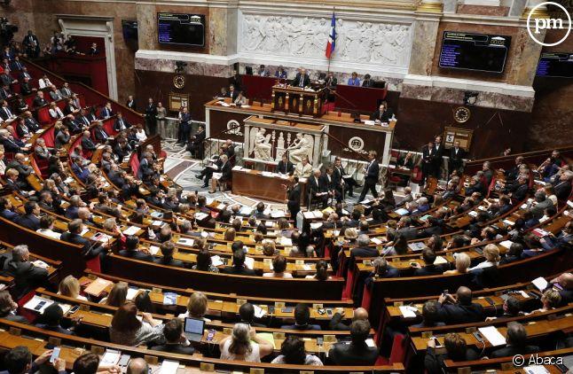L'Assemblée nationale en juillet 2017