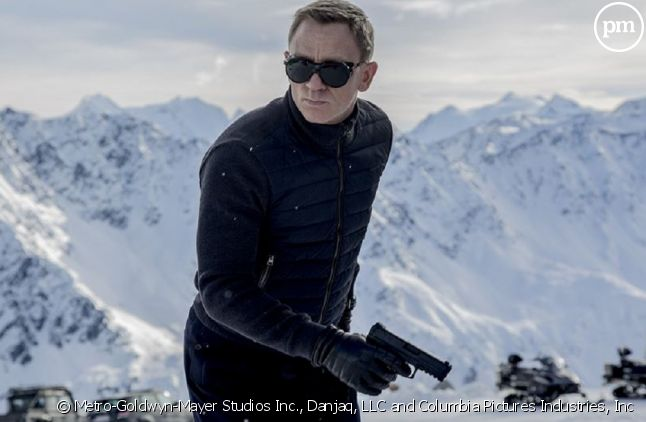 """Daniel Craig dans """"007 Spectre""""."""