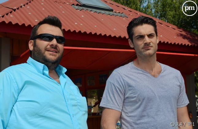 "Laurent Ournac et Gil Alma dans ""Camping Paradis"""