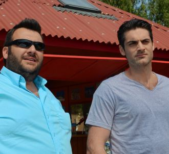 Laurent Ournac et Gil Alma dans 'Camping Paradis'