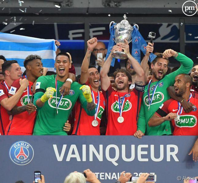 Le PSG a remporté la Coupe de France en 2017