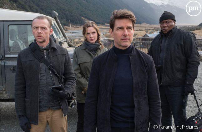 Tom Cruise, <span>Rebecca Ferguson, Simon Pegg et <span>Ving Rhames</span></span>