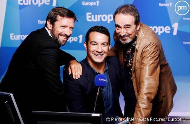 Julien Cazarre, Thomas Thouroude et Didier Roustan