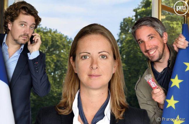 Guillaume Meurice, Charline Vanhoenacker et Alex Vizorek