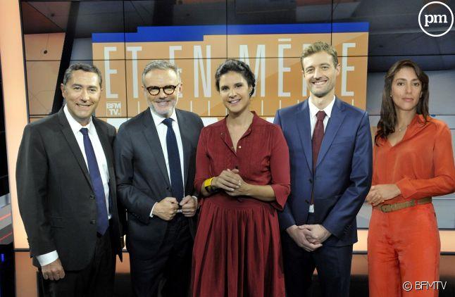 Laurent Neumann, Eric Brunet, Apolline de Malherbe, Frédéric Says et Anna Cabana