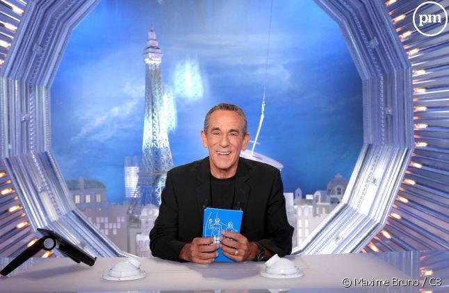 """Thierry Ardisson sur le plateau de """"Salut les Terriens !"""""""