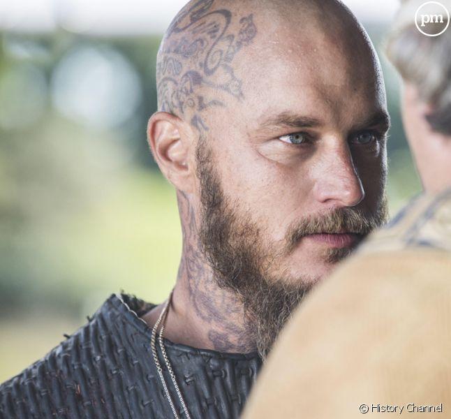 """Travis Fimmel dans """"Vikings"""""""