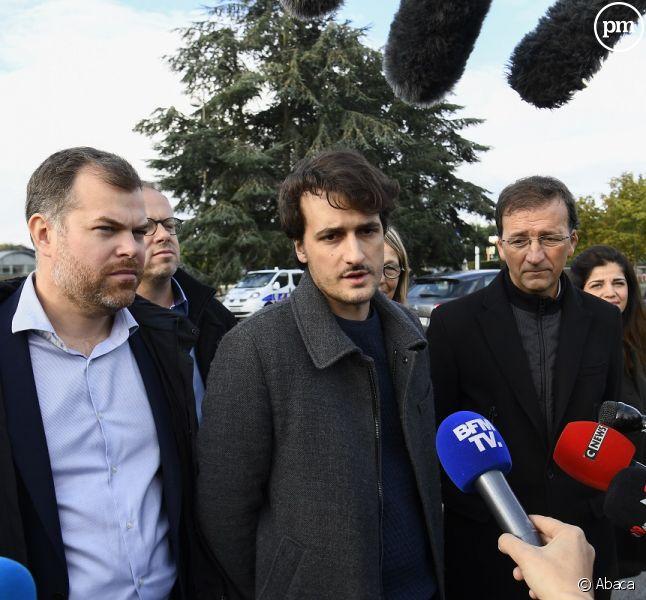 Le journaliste Loup Bureau de retour en France
