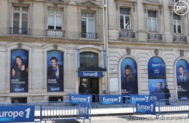 Locaux d'Europe 1 à Paris