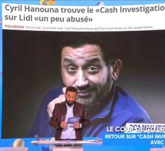 Cyril Hanouna fait marche-arrière sur 'Cash Investigation'