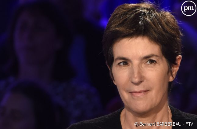 """Christine Angot dans """"On n'est pas couché"""""""