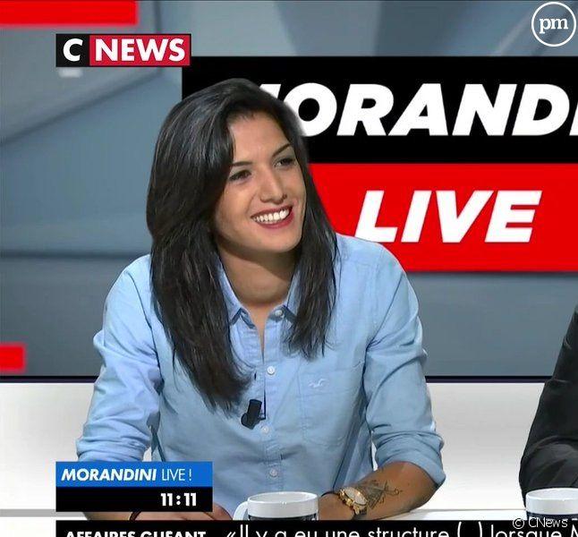"""Farah RK dans """"Morandini Live"""""""