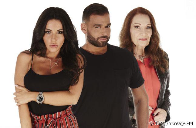 """Laura, Noré et Tanya dans """"Secret Story 11"""""""