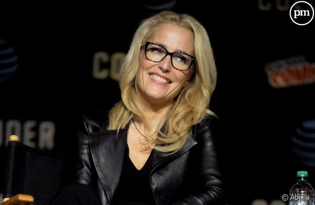 Gillian Anderson au Comic Con de New York