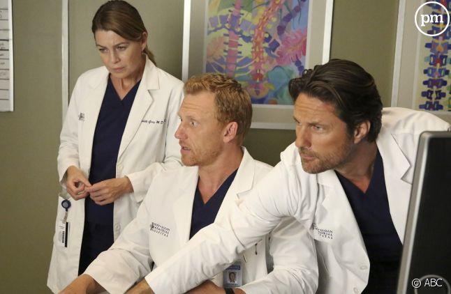 """Ellen Pompeo, Kevin McKidd et Martin Henderson (""""Grey's Anatomy"""")"""
