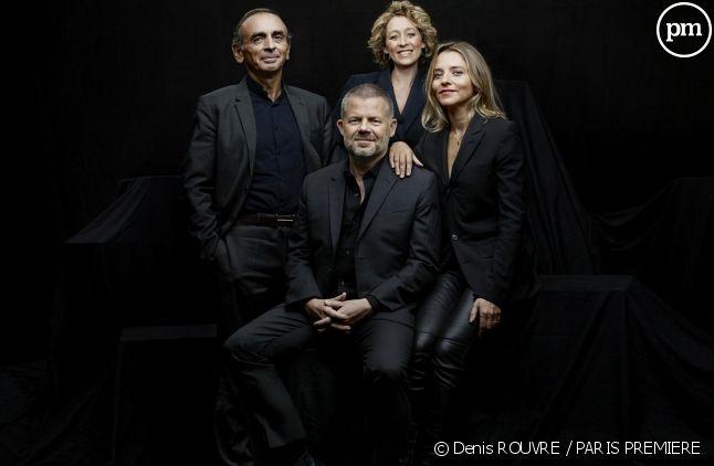 Éric Naulleau, Éric Zemmour, Alba Ventura et Anaïs Bouton