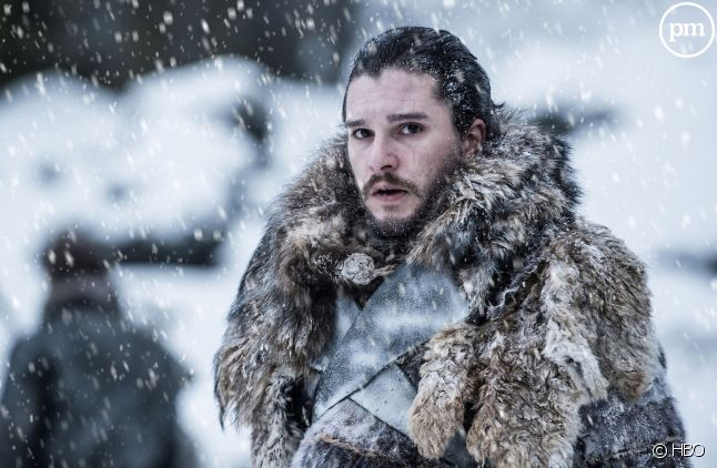 "Kit Harington (Jon Snow) dans ""Game of Thrones"""