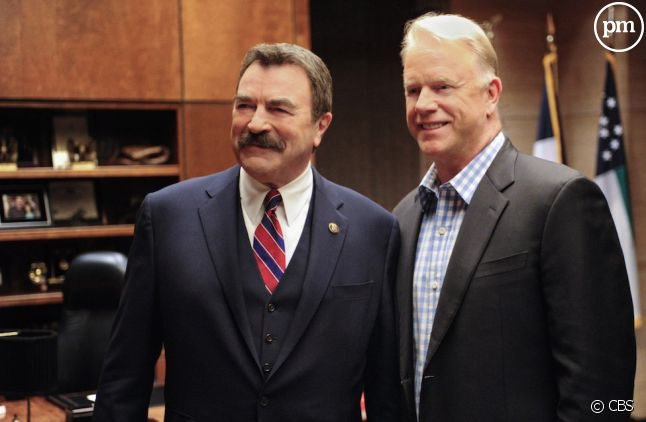 "Tom Selleck dans ""Blue Bloods""."