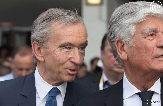 """Bernard Arnault, PDG du groupe LVMH, détient """"Le Parisien"""" et """"Les Échos"""""""