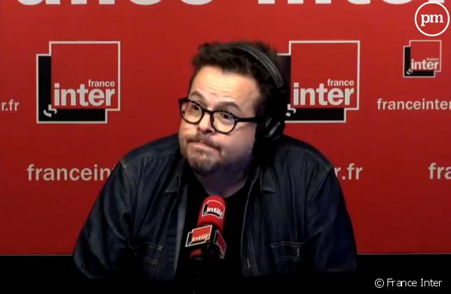 Nicolas Demorand, France Inter.