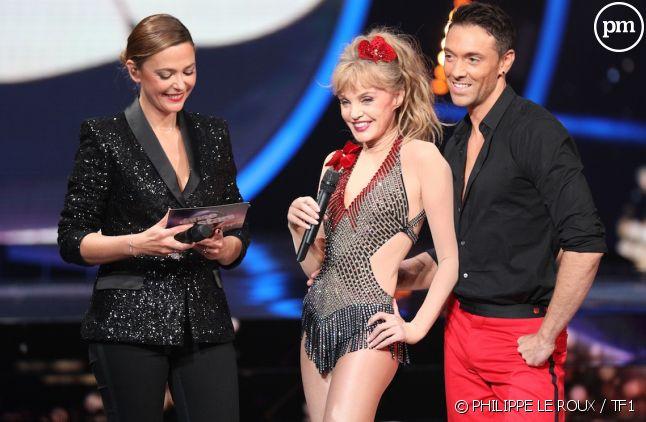 """Arielle Dombasle et Maxime Dereymez (""""Danse avec les stars"""")"""