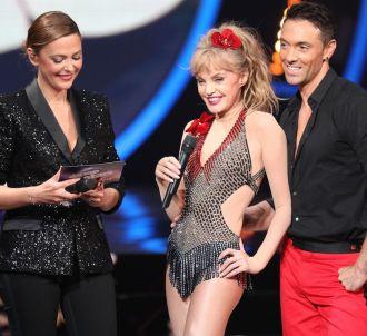 Arielle Dombasle et Maxime Dereymez ('Danse avec les stars')