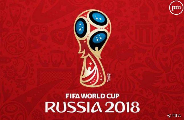 "Logo de ""Russie 2018"""