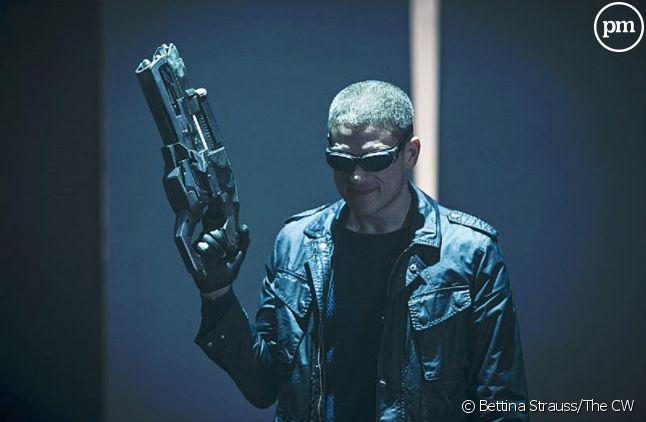 "Wentworth Miller dans le rôle de Leonard Snart dans ""Legends of Tomorrow""."