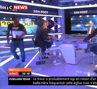 Rost quitte le plateau de CNews.