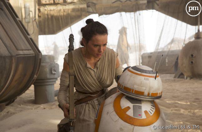 """Daisy Ridley dans """"Star Wars - Episode VII : Le Réveil de la Force"""""""