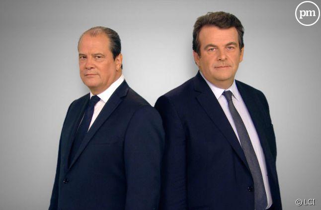 Jean-Christophe Cambadélis et Thierry Solère