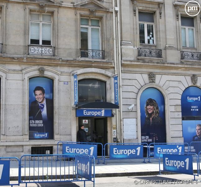 Locaux d'Europe 1 à Paris