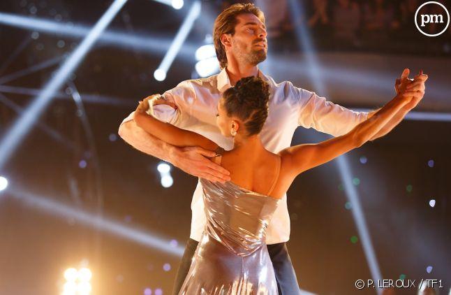 "Camille Lacourt et Hajiba Fahmy (""Danse avec les stars"" 2017)"
