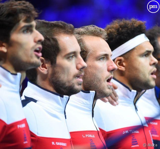 L'équipe de France de Coupe Davis 2017