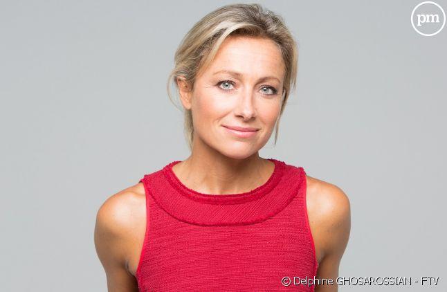 """Anne-Sophie Lapix présentatrice du """"20 Heures"""" de France 2"""