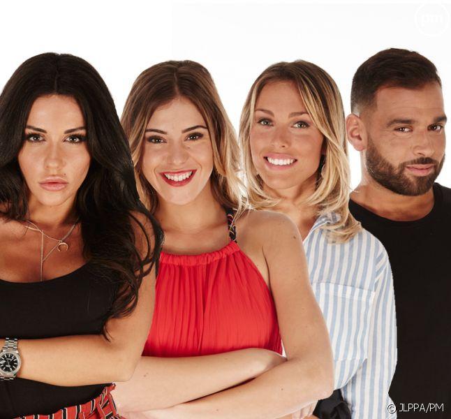 "Laura, Barbara, Charlène et Nore, les quatre finalistes de ""Secret Story 11"""