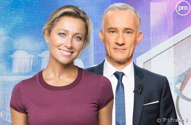Anne-Sophie Lapix et Gilles Bouleau